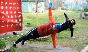 Гравці Донбасу взяли участь в міні-тренуванні у Костянтинівці