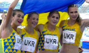 Українські легкоатлетки завоювали золото на Універсіаді