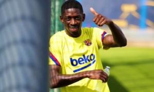 Дембеле повернувся у загальну групу Барселони
