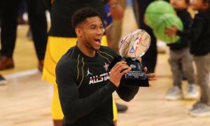 Адетокумбо визнаний MVP Матчу всіх зірок НБА