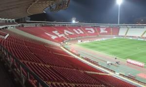 На матч Сербія - Україна продано 7 тисяч квитків, стадіон розрахований на 55 000