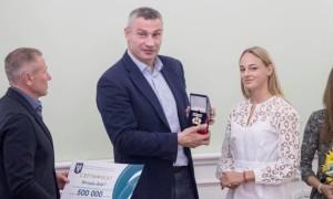 Кличко вручив грошові винагороди п'ятьом київським учасникам Олімпіади