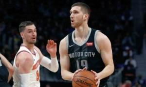 Українець Михайлюк провів найкращий матч у кар'єрі НБА