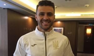 Мораес провів перше тренування за збірну України