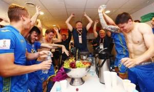 Найкращі на планеті: роздагальня збірної України після перемоги на чемпіонаті світу