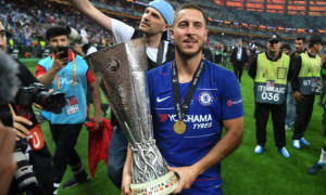 Азар оригінально відсвяткував забитий гол у фіналі Ліги Європи