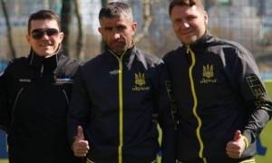 Затверджено штаб збірної України з міні футболу