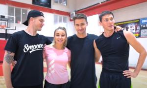 БаскетКарате. Українська чемпіонка прийшла на тренування баскетбольного клубу