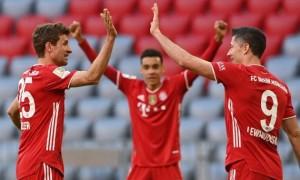 Баварія - Боруссія М 6:0. Огляд матчу
