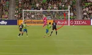 У чемпіонаті MLS було забито фантастичний гол