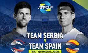 Іспанія зіграє із Сербією у фіналі ATP Cup