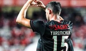 Яремчук отримав середню оцінку за матч проти ПСВ