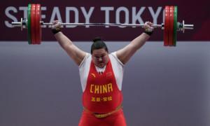 Китаянка виграла золоту медаль з олімпійським рекордом
