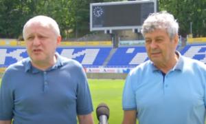 Суркіс вмовляє Луческу залишитися у Динамо – Циганик