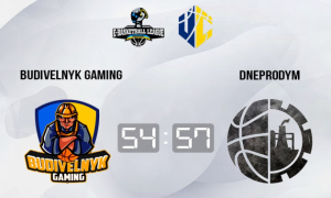 Dneprodym у напруженій боротьбі переміг Budivelnyk Gaming у чемпіонаті України