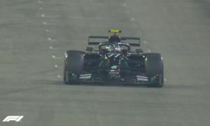 Боттас виграв кваліфікацію на Гран-прі Сахіра
