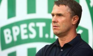 Ребров: Я не збирався йти з Ференцвароша, але клуб зробив вибір