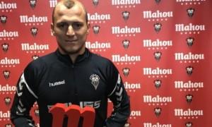 Зозуля визнаний найкращим гравцем Альбасете у жовтні