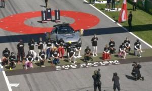 6 пілотів Формули-1 не встали на одне коліно перед Гран-прі Австрії