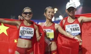 Китаянки зайняли весь медальний п'єдестал у ходьбі на чемпіонаті світу