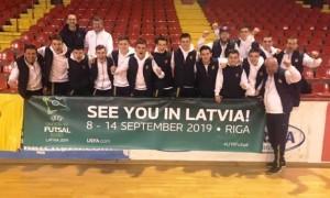 Юнацька збірна України пробилася на Євро-2019