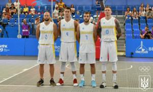 Чоловіча збірна України на Європейських іграх не вийшла з групи