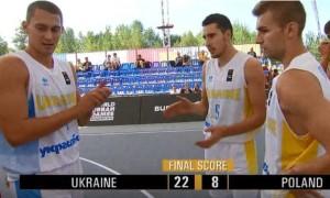 Україна впевнено перемогла на старті фіналу Ліги націй 3х3