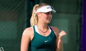 Костюк покинула парний турнір в ОАЕ