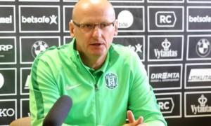 Наставник Литви не виключає перемоги над Україною
