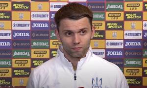 Караваєв: Після матчу Шевченко нас підтримав