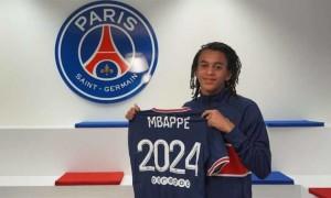 ПСЖ підписав контракт з молодшим братом Мбаппе