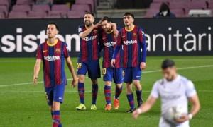 Барселона розгромила Уеску у 27 турі Ла-Ліги