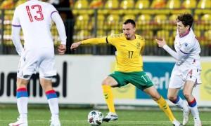 Півзахисник Олімпіка викликаний до збірної Литви