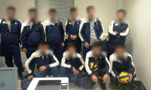 У Греції затримали сирійців, які видавали себе за волейбольну команду з України