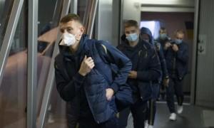 Легіонери збірної України почали покидати розташування команди