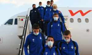Динамо прибуло до Барселони на матч Ліги чемпіонів