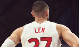Лень зіграв 500 матчів в НБА