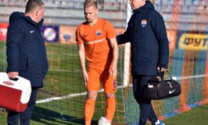 Танковський травмувався під час симуляції у матчі з Ворсклою