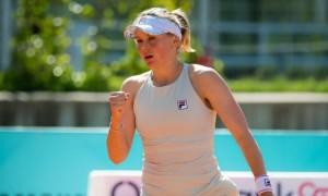 Козлова програла матч 1/8 фіналу турніру в Іспанії
