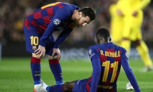 Дембеле готовий продовжити контракт з Барселоною
