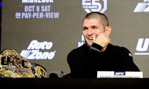 Нурмагомедов готовий звільнити титул чемпіона UFC