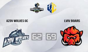 Lviv Boars перемогли Azov Wolves у чемпіонаті України