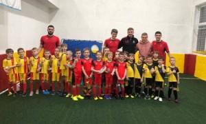 Півзахисник Динамо взяв участь у дитячому турнірі
