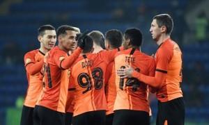 Шахтар переміг Бенфіку у першому матчі 1/16 фіналу Ліги Європи