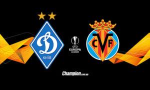 Динамо - Вільярреал: онлайн-трансляція 1/8 фіналу Ліги Європи. LIVE