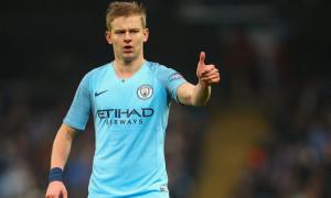 Зінченко претендує на звання гравця місяця у Манчестер Сіті