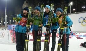 Золотий олімпійський склад України заявлений на естафету Кубка світу