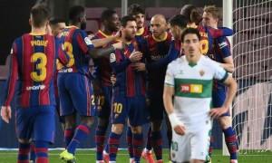 Барселона розгромила Ельче у Ла-Лізі