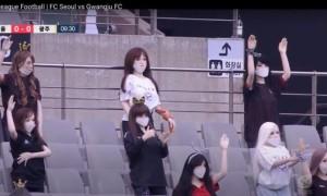 У чемпіонаті Кореї уболівальників замінили секс-ляльки