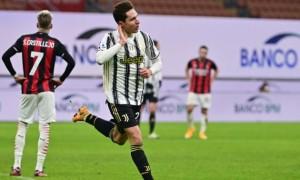 Мілан вдома програв Ювентусу у 16 турі Серії А